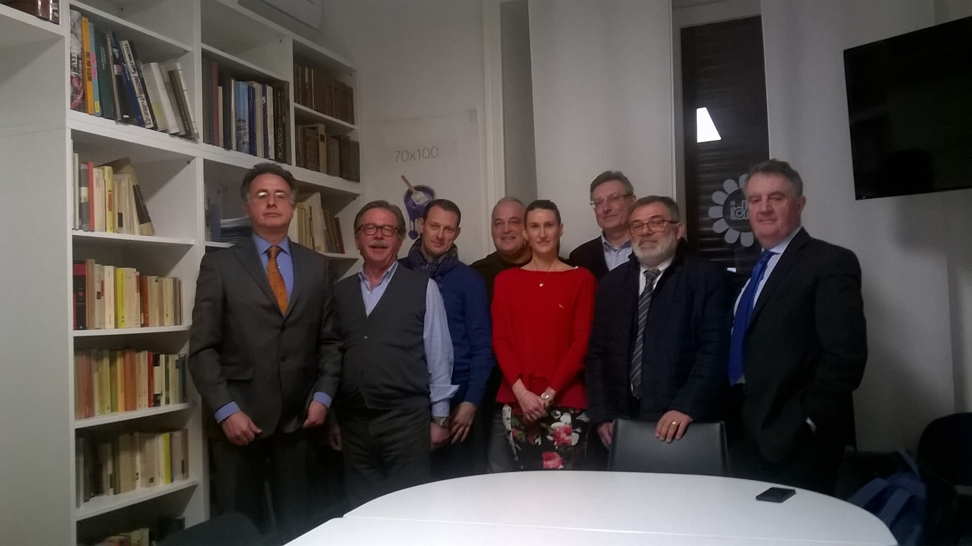 Tra gli altri: Loretto Boggian, Antonio Trotti e Silvia Brambilla