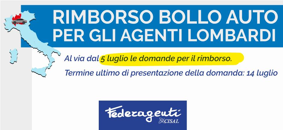Federagenti - Rimborso bollo auto agenti di commercio lombardi