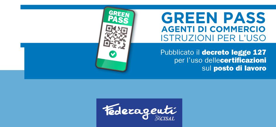 Federagenti - Green pass, istruzioni per l'uso per gli agenti di commercio