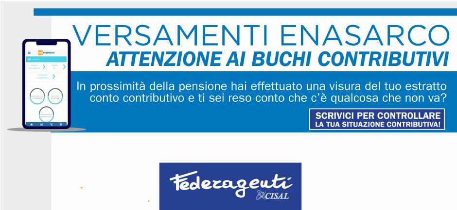 Federagenti - Verifica dei versamenti contributi Enasarco